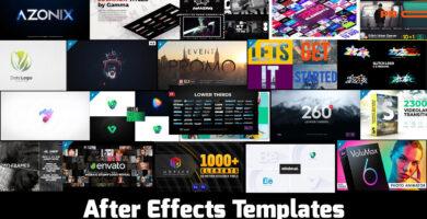 Los mejores After Effects Templates para creadores