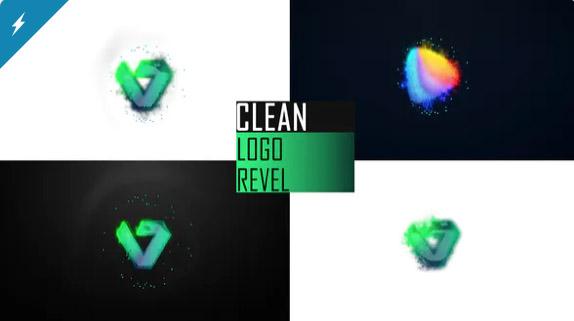 Clean Logo Reveal por FALCOM