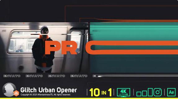 Glitch Urban Opener por Afterdarkness75