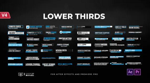 Lower Thirds por FALCOM