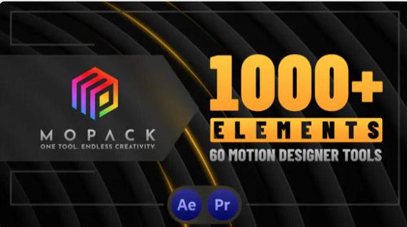 MoPack por MotionApe After Effects Templates para creadores