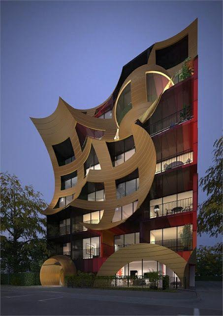 Apartamento Orbis  Melbourne Australia  Casas insólitas