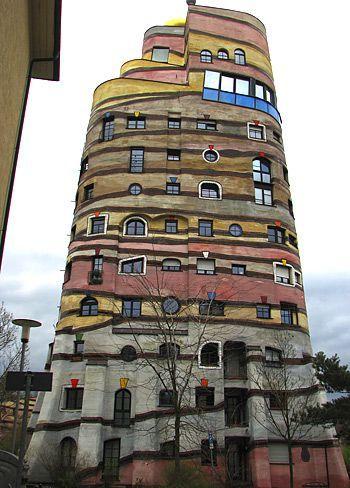 Edificio Hundertwasser en Austria