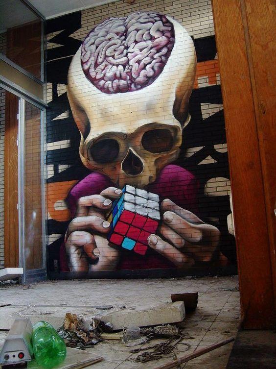 """MataOne """" Rubik Cube """" """" Ronse, Belgium"""