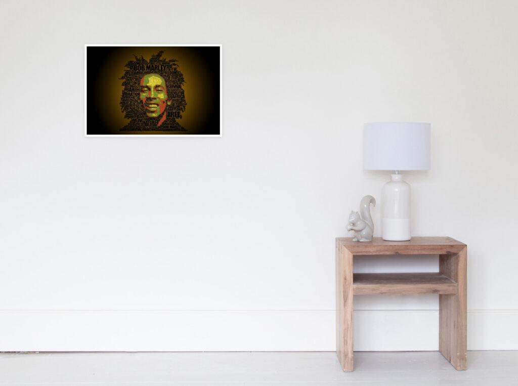 Rasta Words - Bob Marley - Art prints - Redbubble