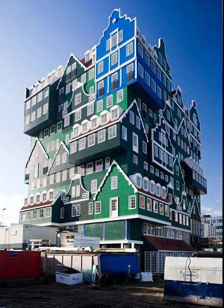 The Hotel Inntel in Zaandam The Netherlands