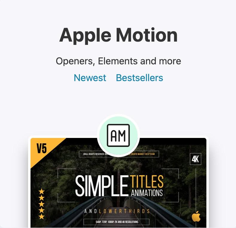Apple Motion - Final Cut Pro