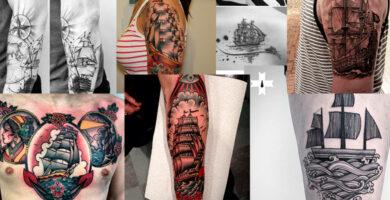 tatuajes de barcos para inspirarse