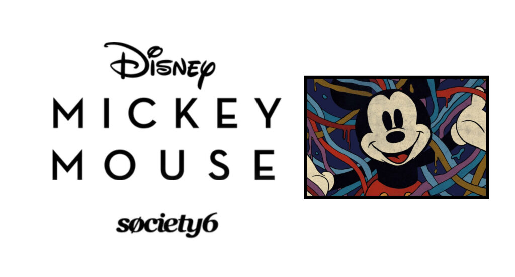 Society6 - The Mickey Mouse Collection