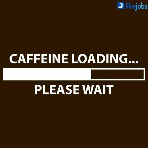 Caffeine loading... please wait
