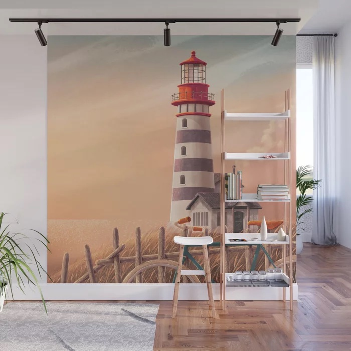 Home away from home Wall Mural