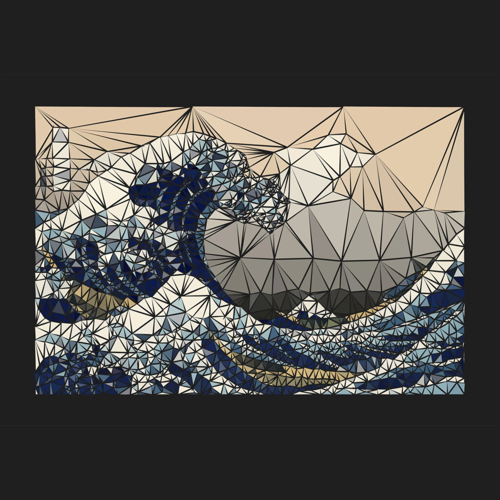 The great wave of K - Colección de NFT en OpenSea