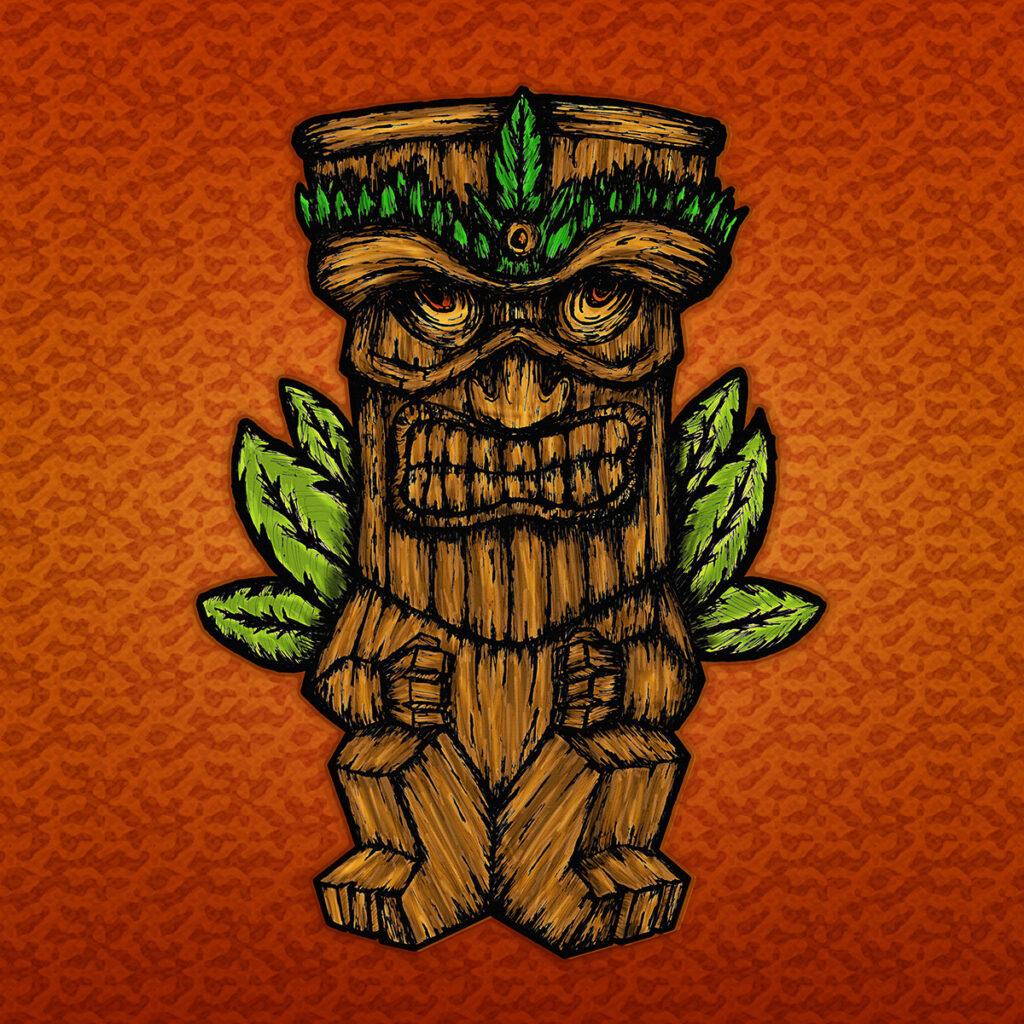 Tiki monster - Colección de NFTs en OpenSea - Cryptoart - Ethereum
