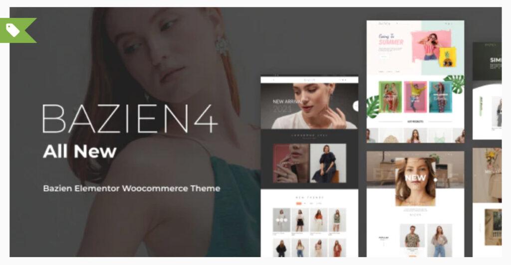 Bazien - Elementor WooCommerce Theme  - WordPress ECommerce Themes