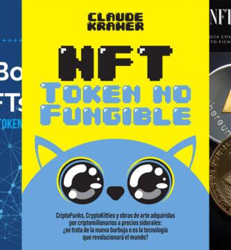 Cinco libros sobre NFTs para emprender en cryptoarte