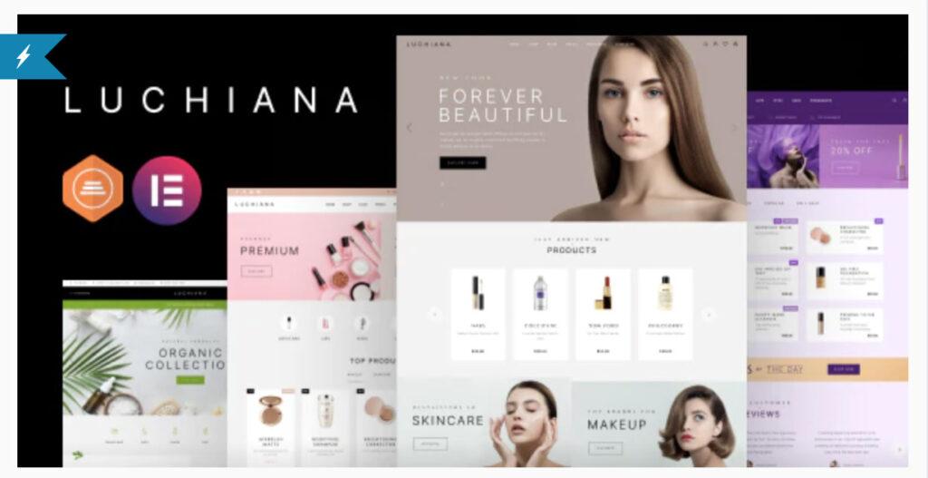 Luchiana - Cosmetics Beauty Shop Theme By park_of_ideas
