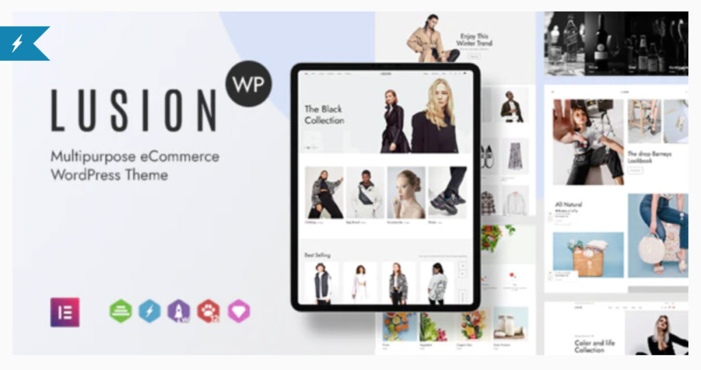 Lusion - Multipurpose eCommerce WordPress Theme By ArrowHiTech