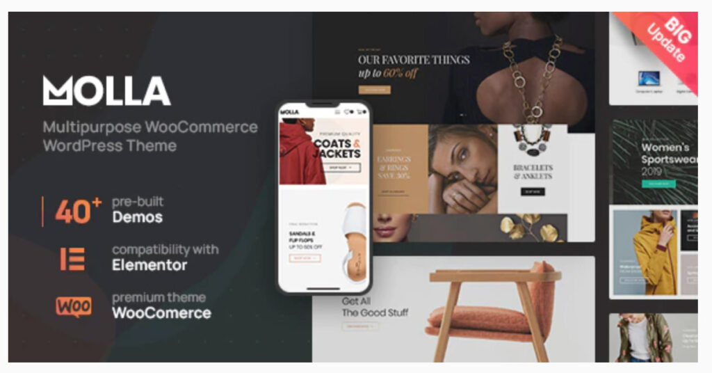 Molla   Multi-Purpose WooCommerce Theme By don-themes