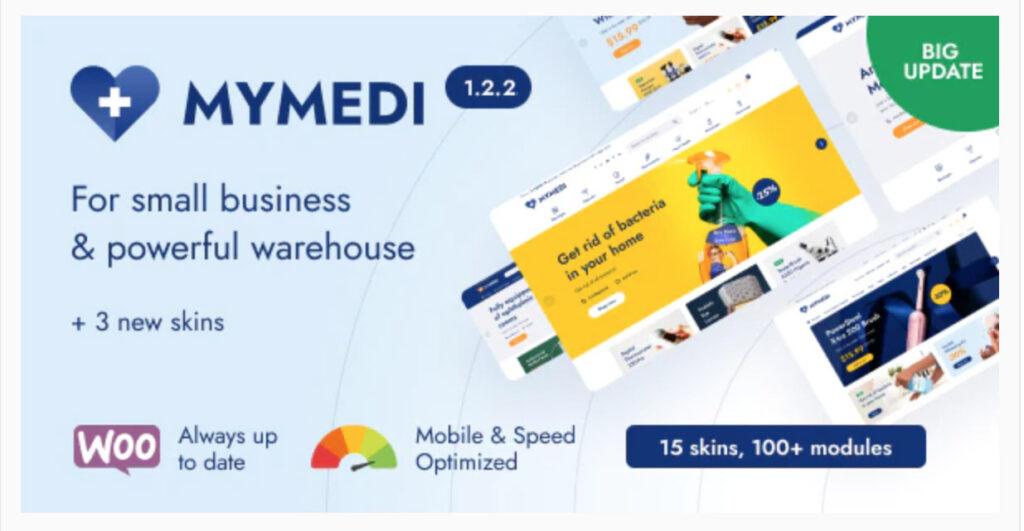 MyMedi - Responsive WooCommerce WordPress Theme By skygroup