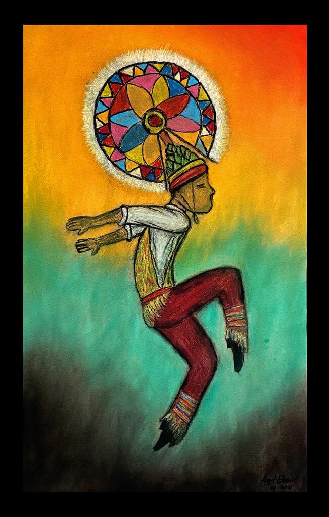 Totonac dancer NFT