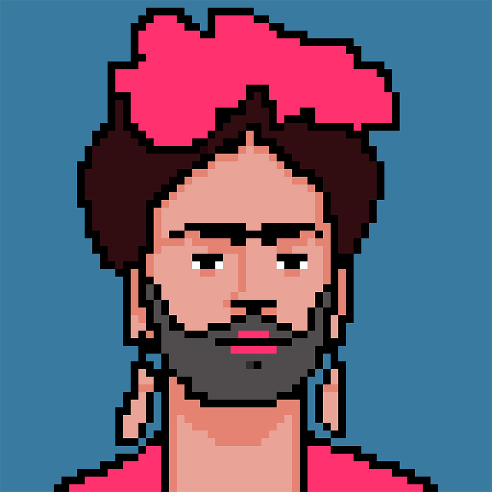 Bearded Frida