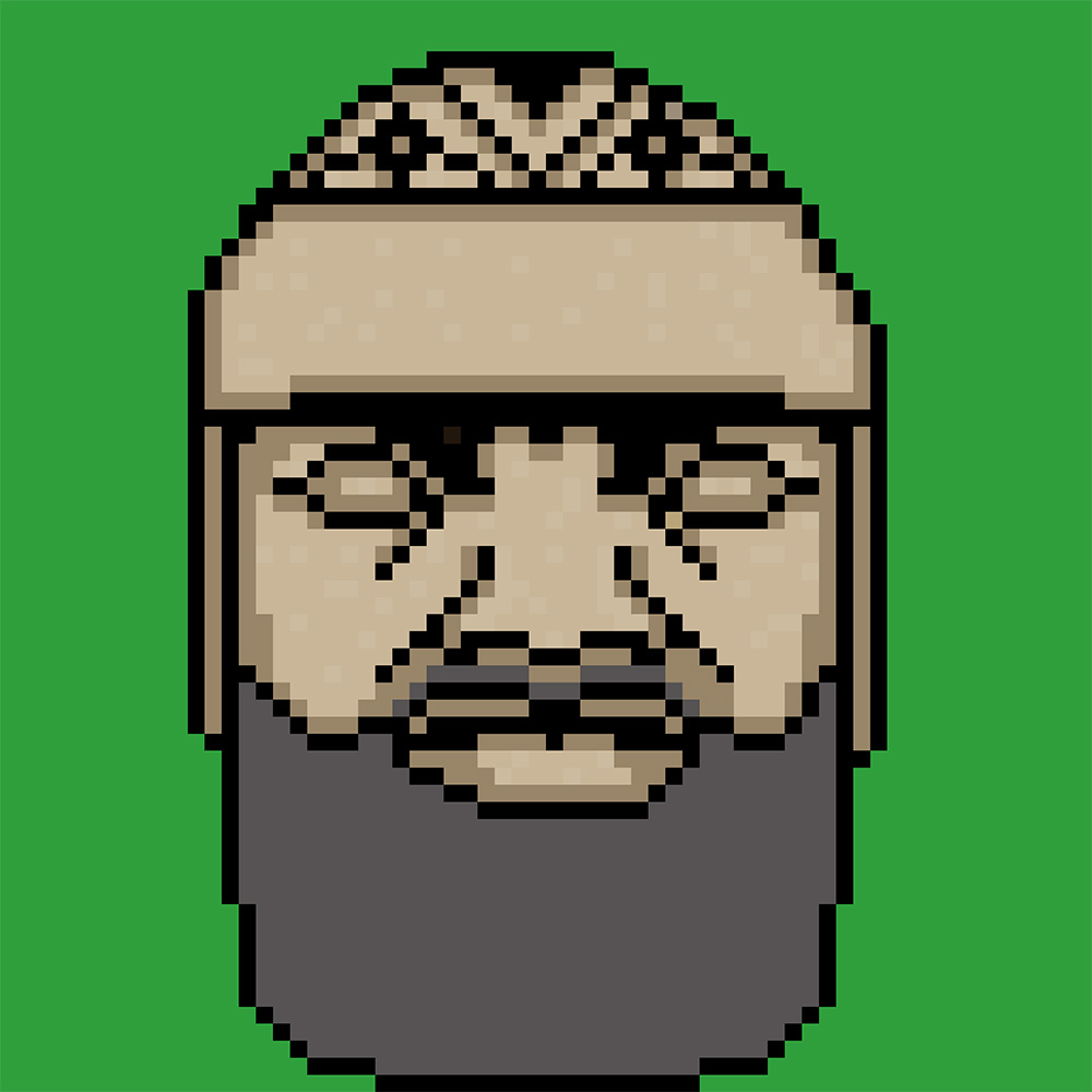 Bearded olmec head