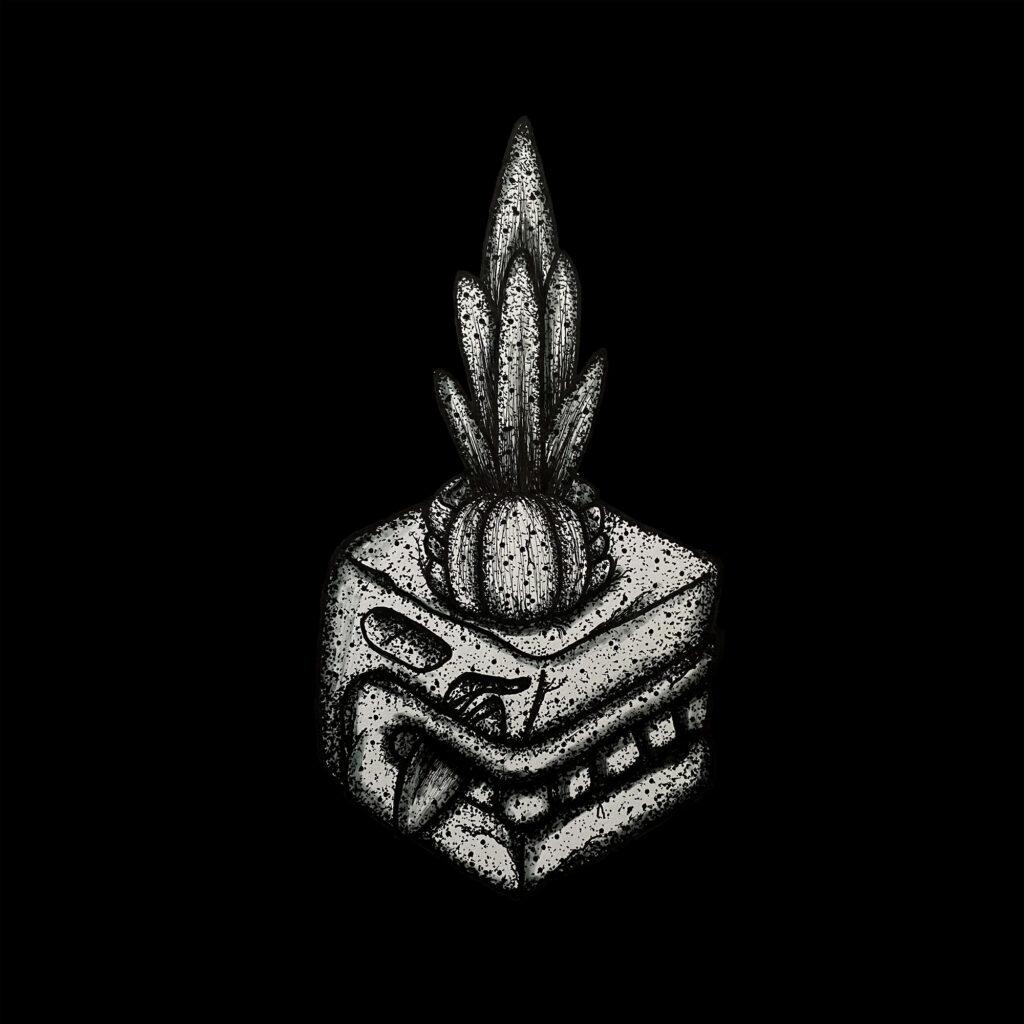 Prehispanic ink pot - Open Sea NFT - Ethereum crypto art