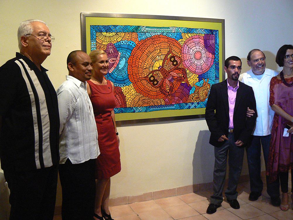 Exposición Arte Ingenuo de Antonio Mendoza en el Museo de Arte Contemporáneo Ateneo de Yucatán, 2011